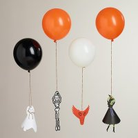 Spooky Balloon Holders, Halloween Balloon Decorations ...