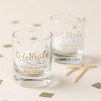 Personalized Holiday Shot Glass Votive Holder ...