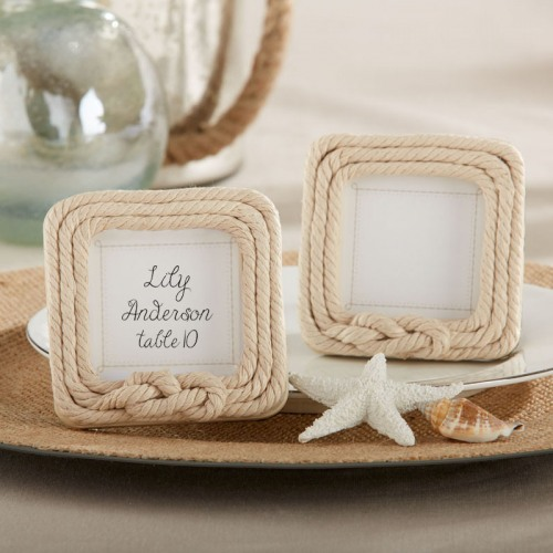Nautical Rope Frame Nautical Frame Rope Place Card