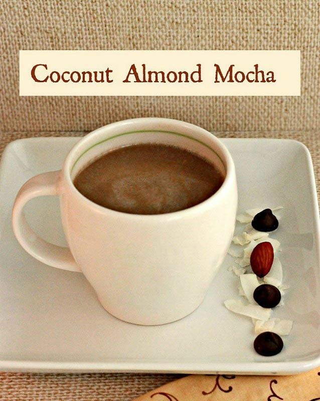 Coconut Almond Mocha