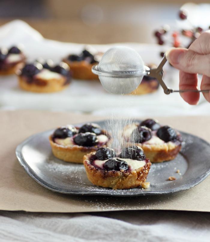 Cherry Cheesecake Tarts Low Carb & Gluten Free