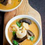 Keto Instant Pot Thai Shrimp Soup - Low Carb, Paleo & Whole30
