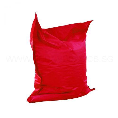giant pillow bean bag red