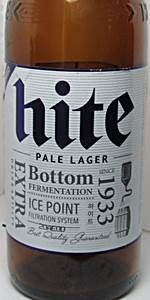 Hite Pale Lager Hite Brewery Company LTD BeerAdvocate