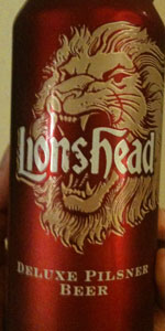 lionshead pilsner lion brewery