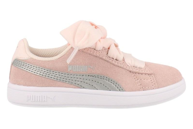 Puma Sneaker Laag Smash 2v Ribbon Ac Ps Meisjes - Roze