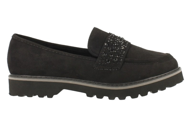 Top Way Mocassin - Zwart