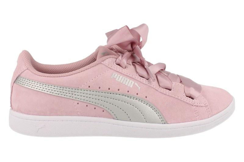 Puma Sneaker Laag Meisjes Vikky Ribbon Softfoam - Roze