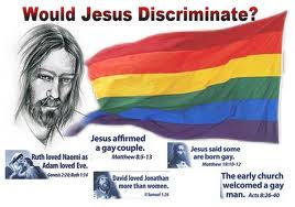 Jesus and gay marriage