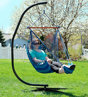 tree hanging hammock chair computer cheap 5 best chairs reviews of 2018 bestadvisor com review sunnydaze decor padded soft cushioned