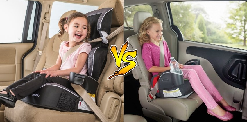 What's best: a High-back or Backless booster seat?
