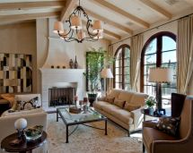 Mediterranean-style Living Room Decor Ideas