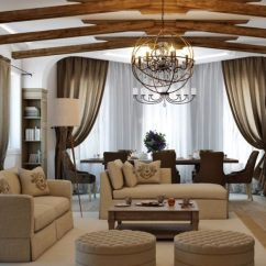 Decoration Ideas For Living Room Walls Decorating Gray Country-style Interior