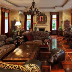 African Living Room Interior Paint Style Design Ideas The