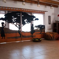 African Style Living Room Design Ideas For Decorating Tall Walls Interior The