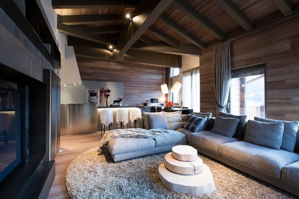 living room decor ideas for small apartments tropical inspired rooms modern apartment in switzerland: fresh and curious ...