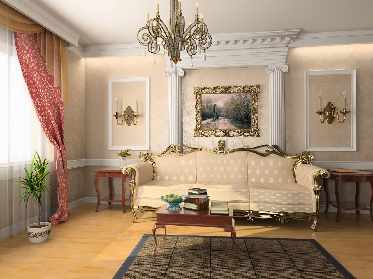 Rococo Style interior design ideas