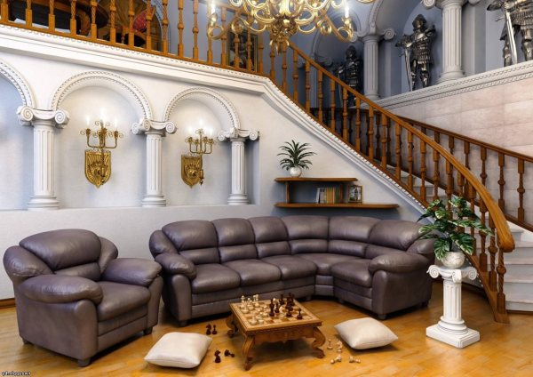 Romanesque Style Architecture Interior