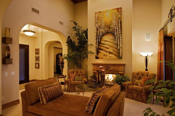 Tuscan Living Room Decorating Ideas