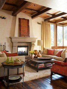 Tuscan Style Living Room Ideas
