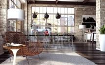 Loft-Style Interior Design