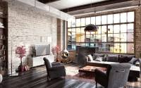 How to create a modern interior in loft-style