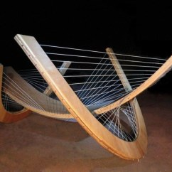 Scandinavian Living Room Furniture Bench Seating String Orchestra By Robby Cuthbert