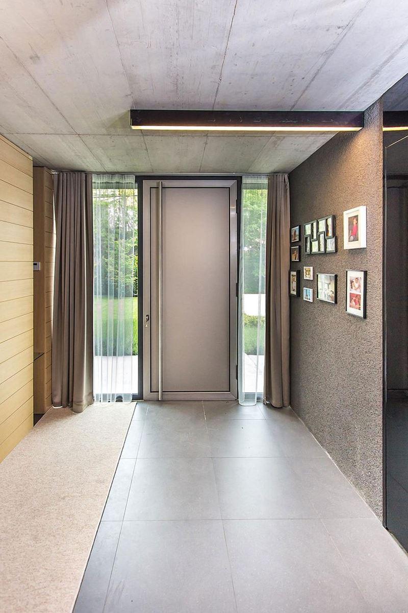 Architecture and interior design of the threestory