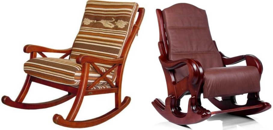 wood rocking chair styles gaming chairs for xbox 360 at modern interior wooden classic style with soft upholstery