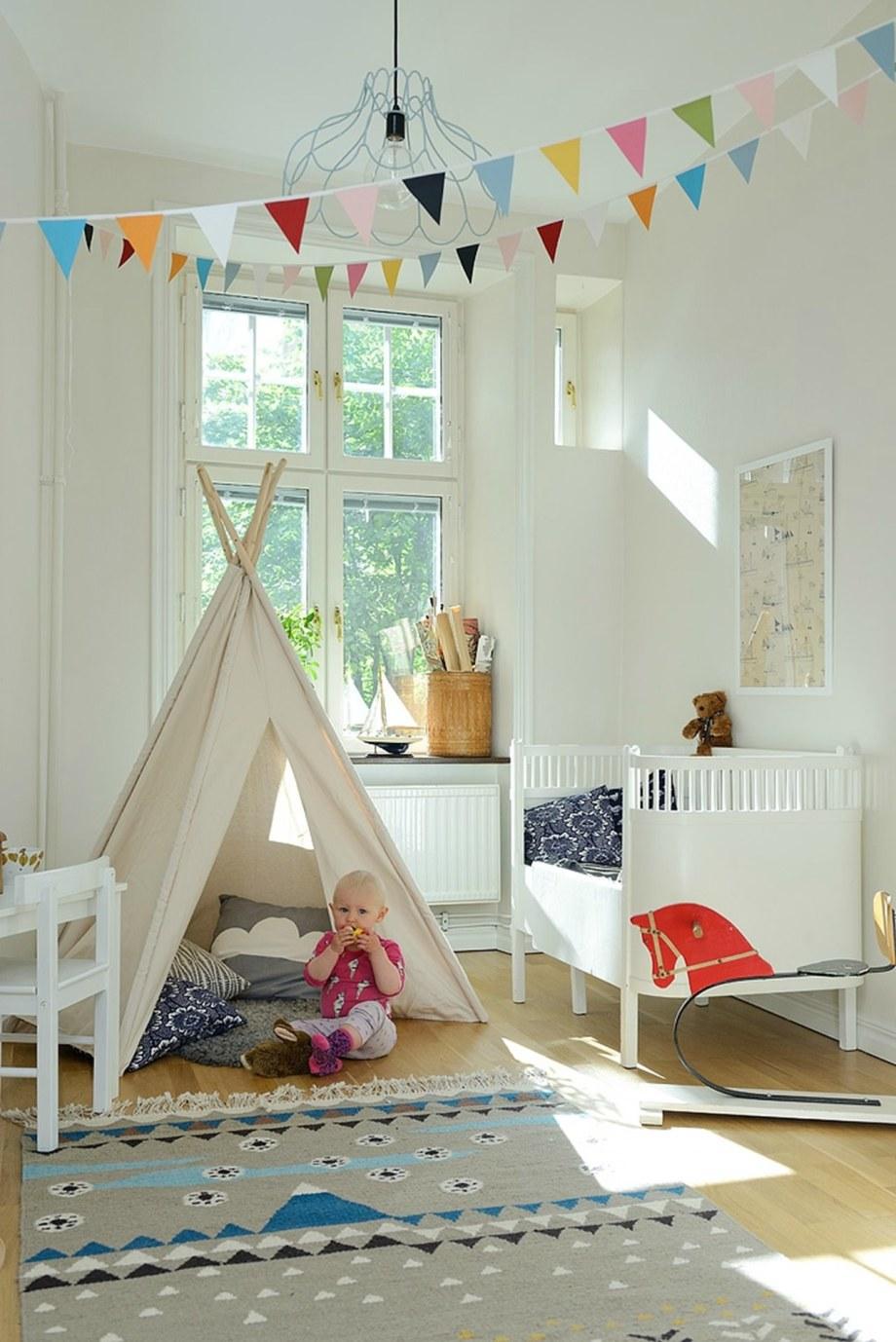Scandinavian Styled Children S Room
