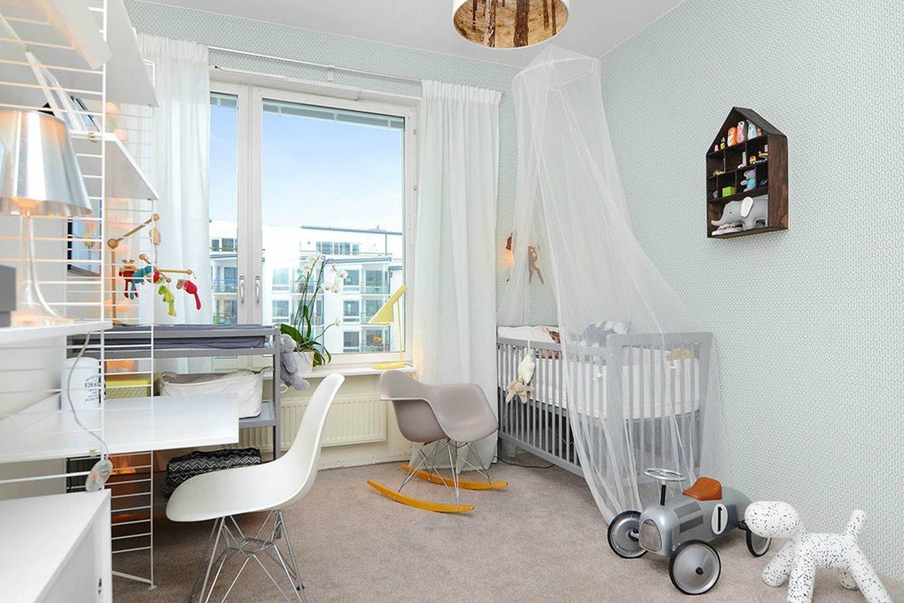 ScandinavianStyled Childrens Room