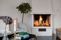 Scandinavian Fireplaces - Home Design