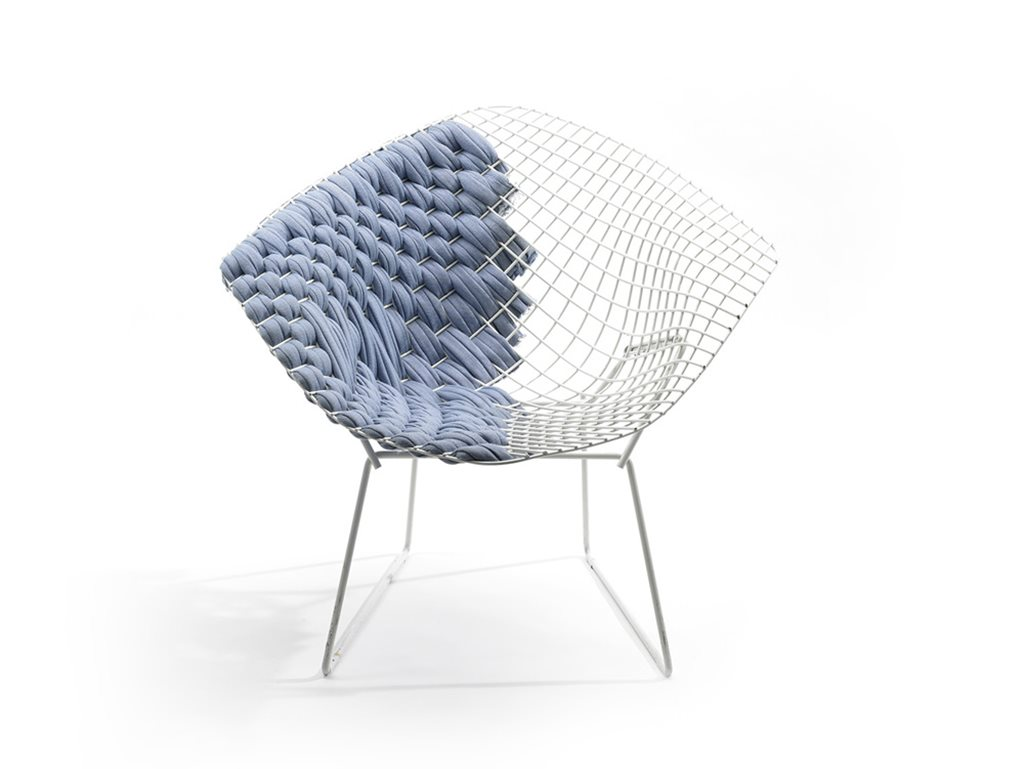 Transfiguration of Harry Bertoias Legendary Chair