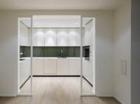 Elegant interior design: a duplex apartment with a ...