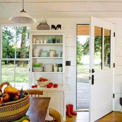 Fruit Kitchen Curtains Island Corbels The Cozy Country House For A Designer`s Family