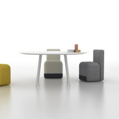 Chair On Wheels White Lounge Colorful And Bright Season Chairs From The Designer Piero Lissoni For Brand Viccarbe