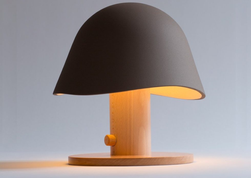 Mush Lamp  a portable table lamp