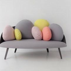 Miniature Sofa Sauder Crash Dark Gray Convertible Nubilo A In Cloud Shape