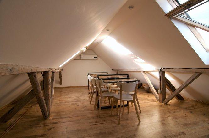 Krysha Cafe By Grosu Art Studio Novosibirsk Russia