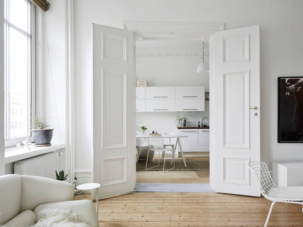 Scandinavian Interior Style A Spacious Flat In Goteborg