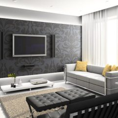 Black And Beige Living Room Curtains Pop Art Design The Best Photos Of White For A In High Tech Style