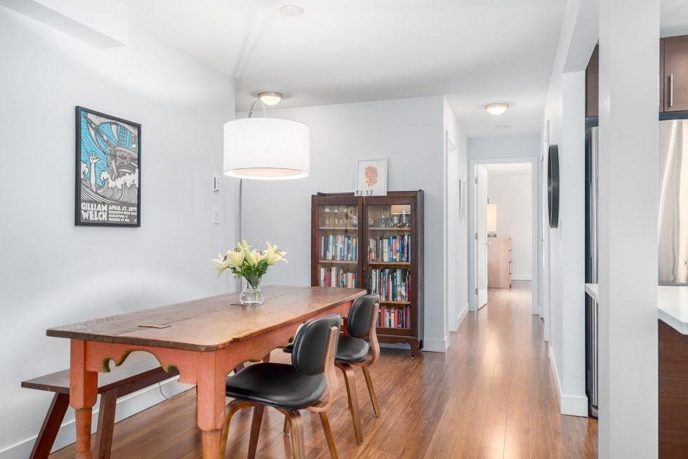grey sofa decor ideas 2 seater cream leather modern apartment in vancouver, canada
