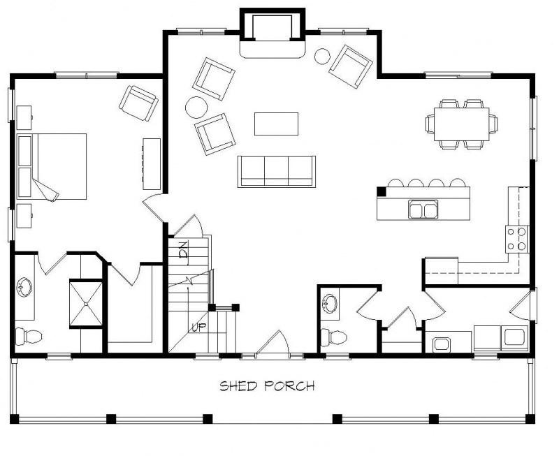 Log Home Floor Plans Loft Diagram Typical House Wiring