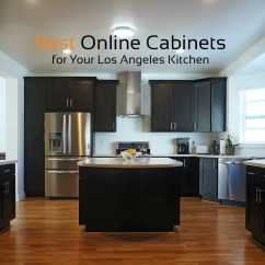 Buy Kitchen Cabinets Online Wood Top Island Rta For Los Angeles Best