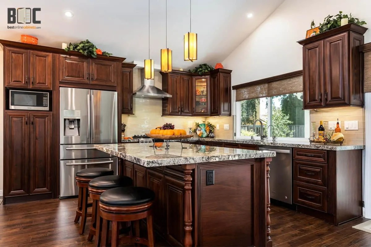 Emily henderson design home depot is probably the first place you go when you embark on a kitchen renovation, but is it th. American Walnut Cabinets Best Online Cabinets