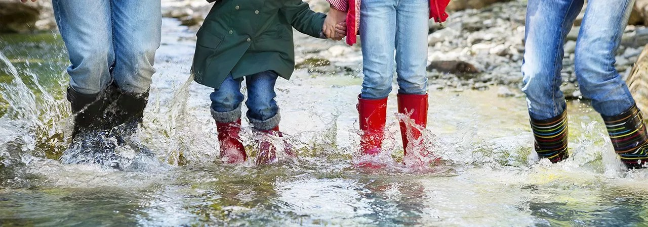 Image result for pictures of water on ground and rain boots