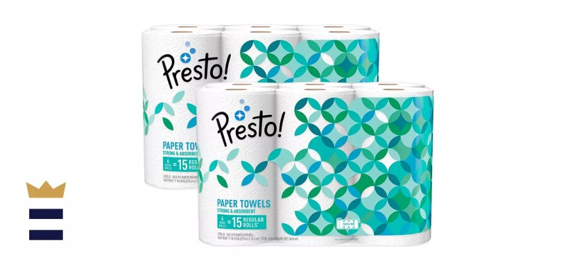 Amazon Brand - Presto! Flex-a-Size Paper Towels