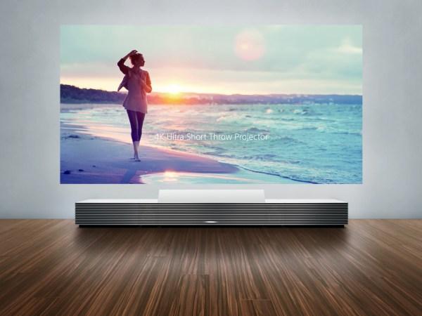 Sony 4K TV Projector Wall