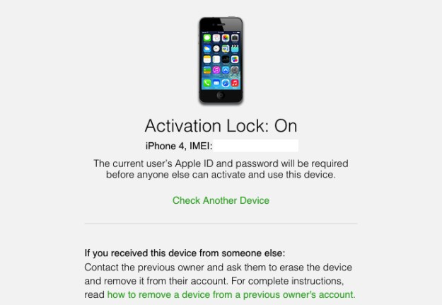 how to check if iphone is locked iphone icloud activation lock how to check status 1655