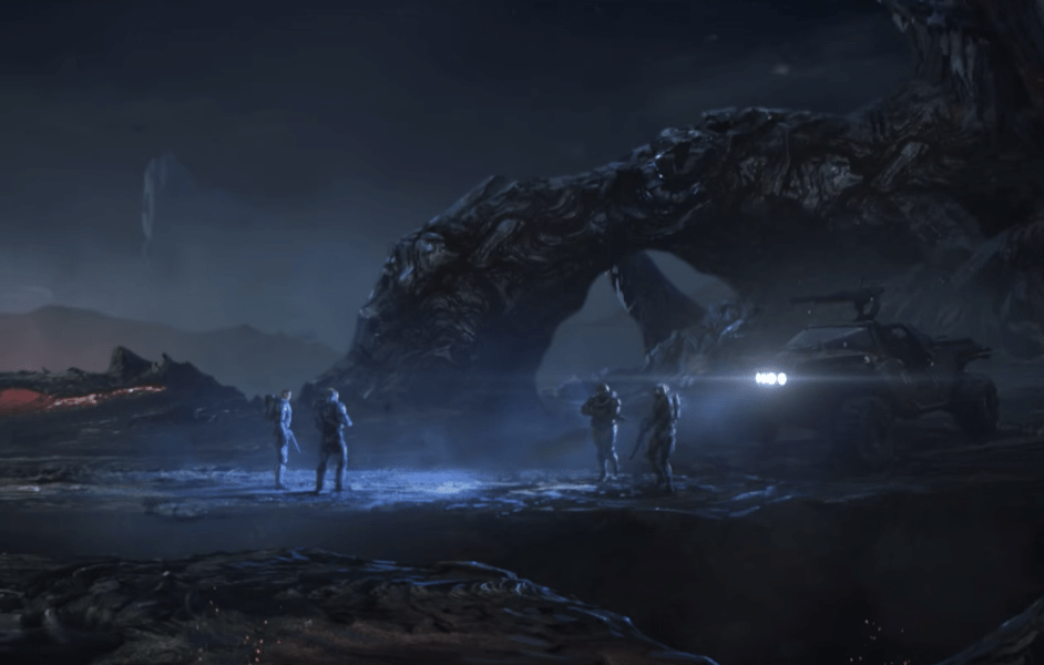 Halo Wallpaper Fall Of Reach Watch The Debut Trailer For The New Animated Series Halo